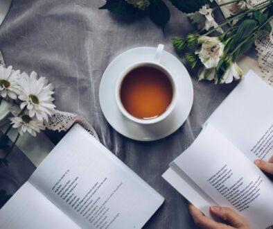 koppla av med läsning